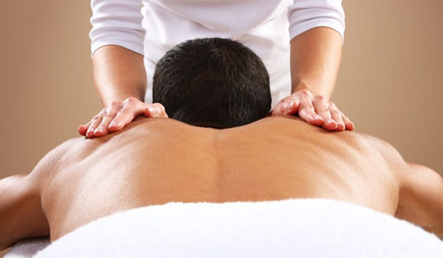 Relaxation through remedial massage