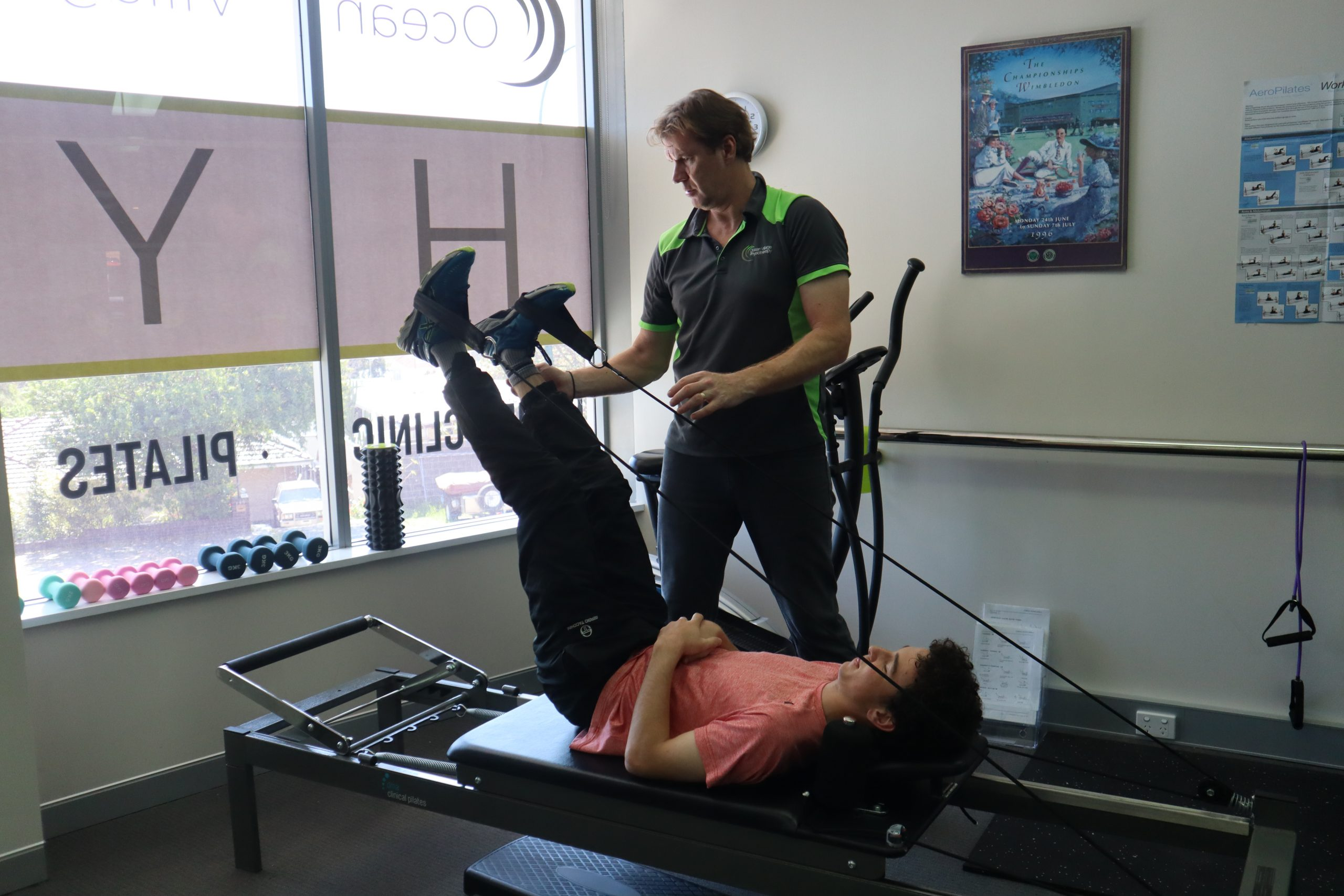 Clinical pilates injury